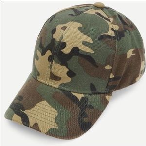 Accessories - Camouflage Baseball Cap